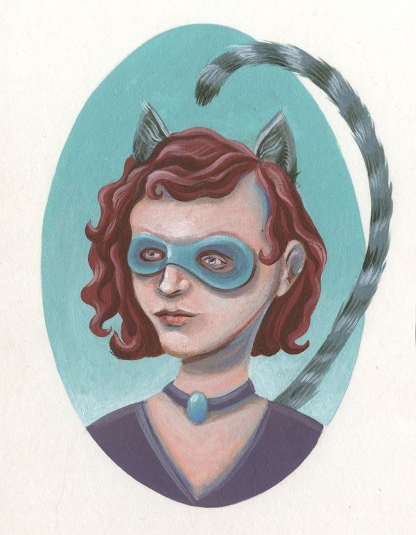 Catgirl by Erin Fitzgerald