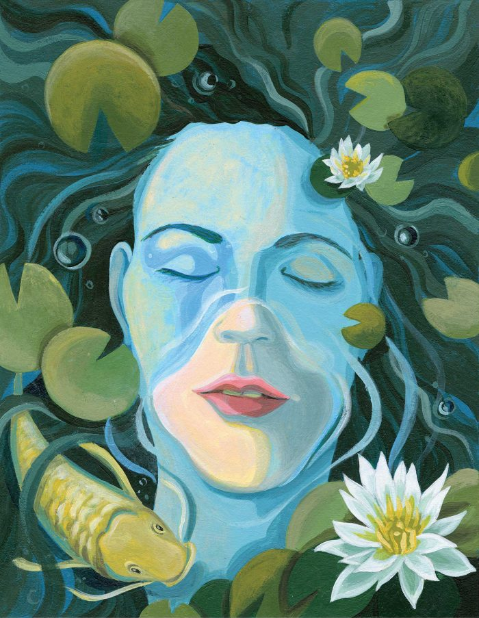 Ophelia in Harmony by Erin Fitzgerald