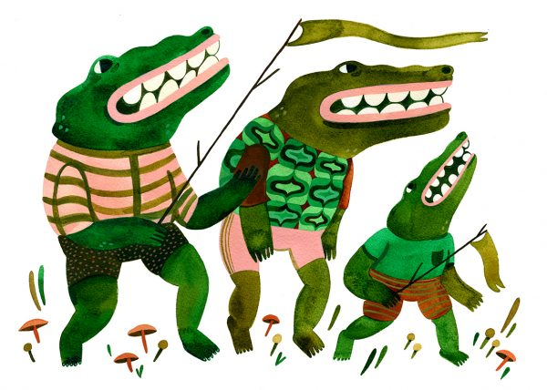 Alligator Parade by Lauren Carozza