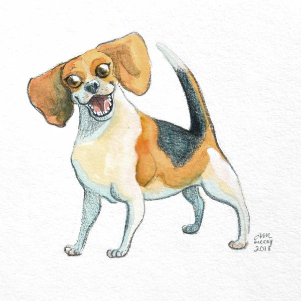 Beagle by Abigail McCoy (Puppers Series)