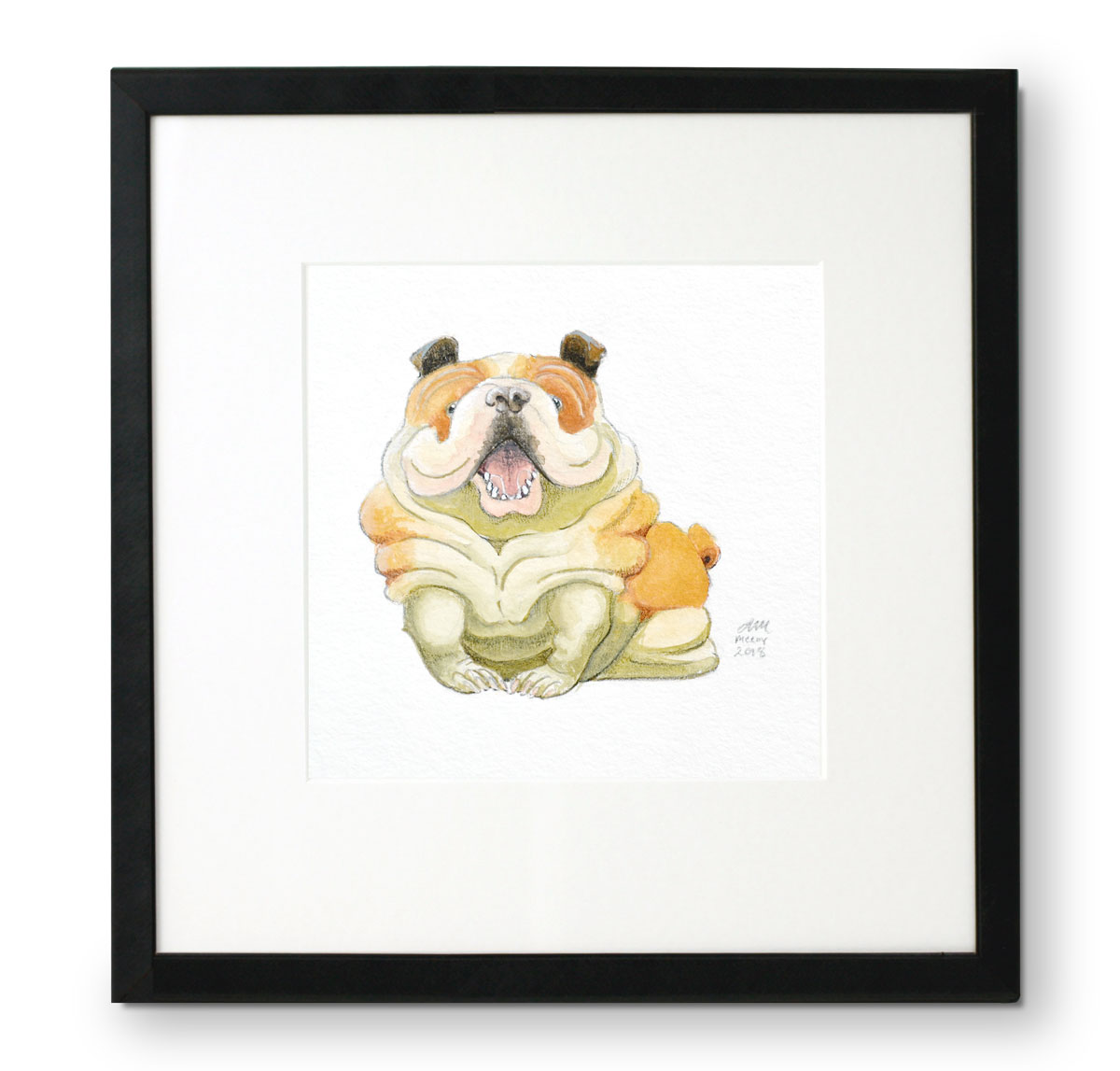 Bulldog by Abigail McCoy (Puppers Series)
