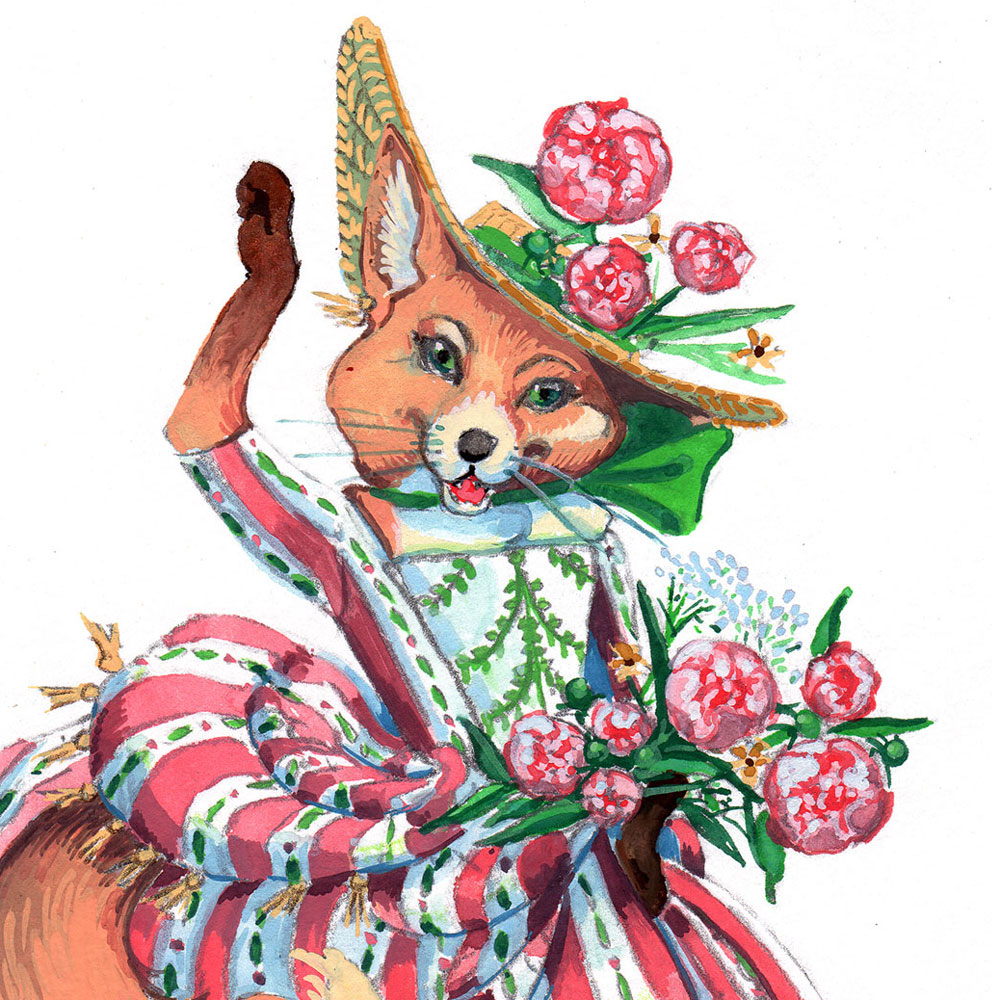 Fox Maid by Abigail McCoy