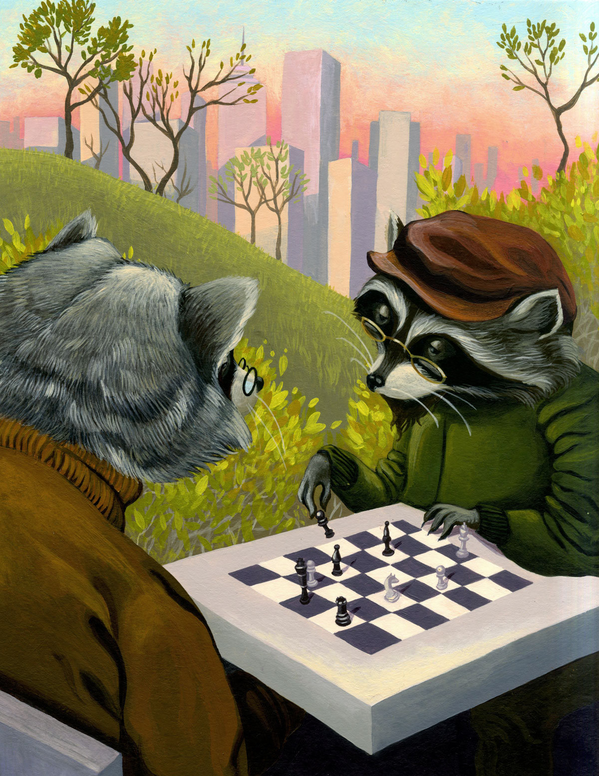 The Urban Raccoon by Erin Fitzgerald